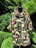 Gorgeous 1950s ' Aquarium ' Print towelling Beach Cover- Up ... **SOLD**.